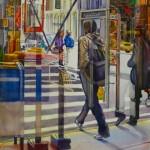 Figure Reflection Painting Charleston SC